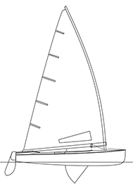 Finn dinghy logo